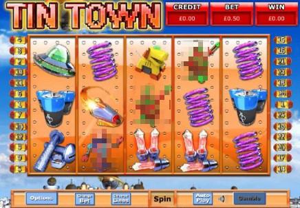 Tin Town slot