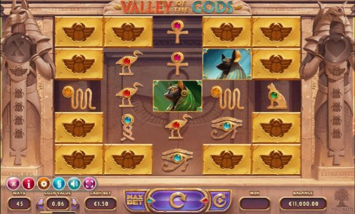 Valley Of The Gods Online Slots
