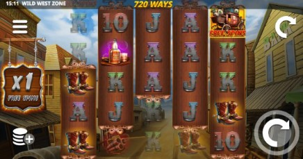 Wild West Zone slot