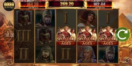 Wonder of Ages JPK slot