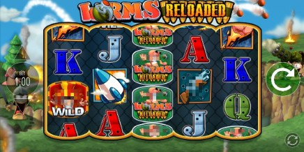 Worms Reloaded Jackpot King slot