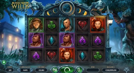 Blood Moon Wilds slot