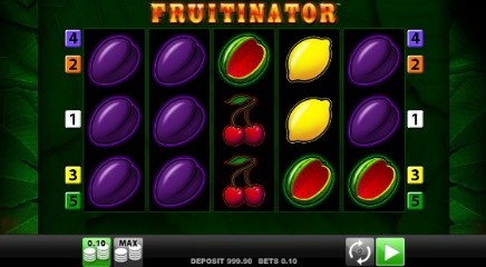 Fruitinator Jackpot King slot