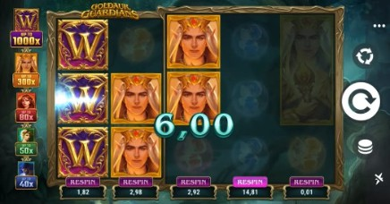 Goldaur Guardians slot