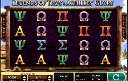 Legends of Troy 2 slot