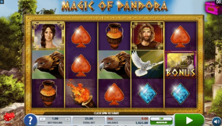 Magic of Pandora slot