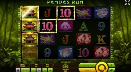 Pandas Run slot