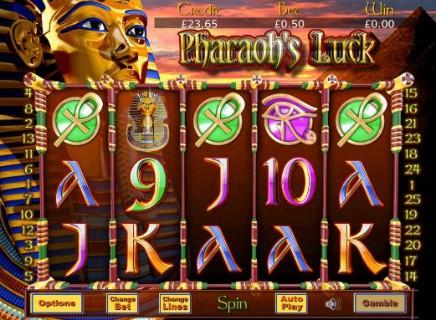Pharaohs Luck slot