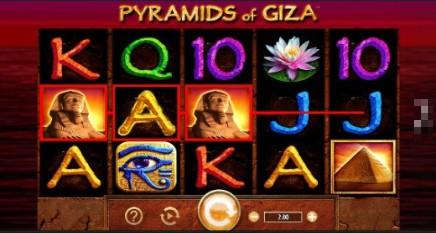 Pyramids of Giza slot
