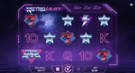 Retro Galaxy slot