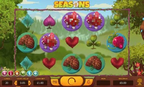 Seasons UK Online Slots
