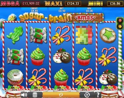 Sugar Train Xmas Jackpot slot