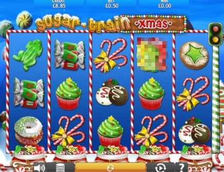 Sugar Train Xmas slot