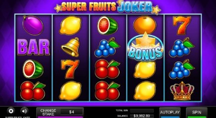 Super Fruits Joker slot