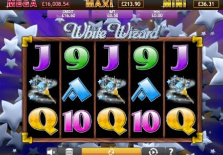 White Wizard Jackpot slot