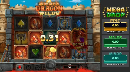 Wicked Dragon Wilds Mega Drop slot